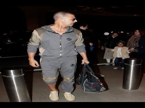 In Graphics: Akshay Kumar & Family leaves for christmas holidays abroad