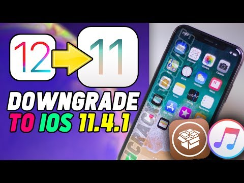 Downgrade iOS 12 to iOS 11.4.1 & Jailbreak Update - iPhone, iPad & iPod, 12.0! (KEEP DATA)