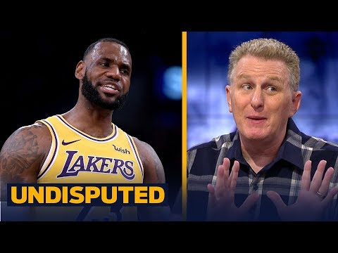 Michael Rapaport gives LeBron '100 percent of the blame' for the Lakers 03 start  NBA  UNDISPUTED