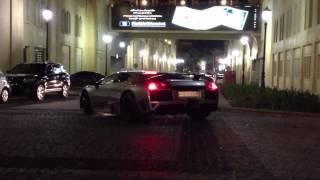 Lamborghini Murcielago parking in JBR Dubai Marina