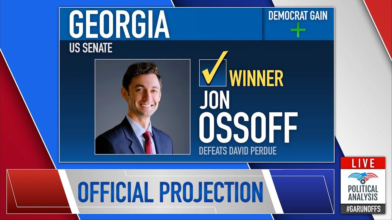 FINAL 2021 Election Night Projection | Georgia Senate Runoffs