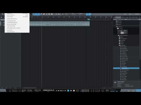 Export to MP3 from Presonus Studio One 3 Prime