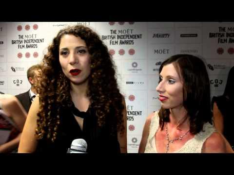Mahalia Belo and Casey Herbert Interview - The British Independent Film Awards 2012