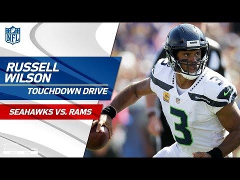 Russell Wilson Leads Incredible TD Drive in LA!   Seahawks vs. Rams   NFL Wk 5 Highlights