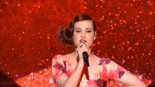 Xfactor 2012 Live Shows Bella Ferraro sings Bulletproof