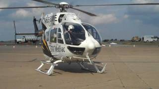 STAT MedEvac EC145 Start Up/Take Off From KAGC