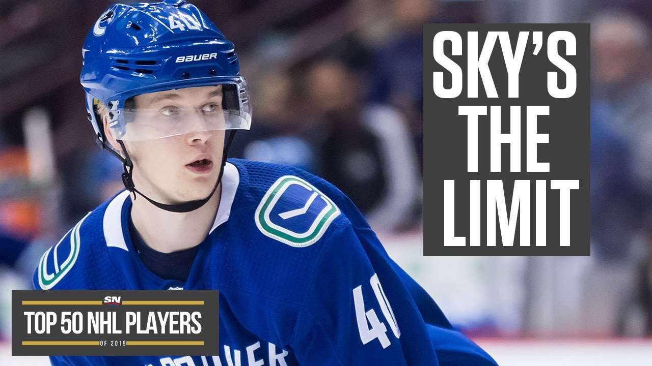 Why The Sky Is The Limit For Elias Pettersson In 2019