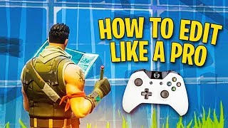 How to get Faster at Editing on Console (PRO TIPS)