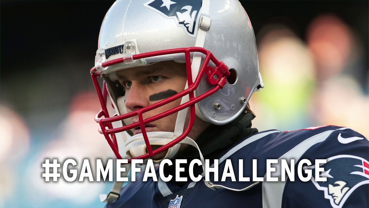 Tom Brady Takes Part In #GameFaceChallenge