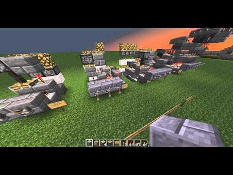 Minecraft Comparator Circuits