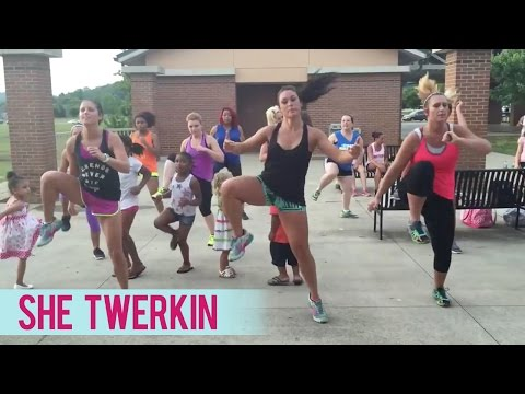 Ca$h Out - She Twerkin (Dance Fitness with Jessica)