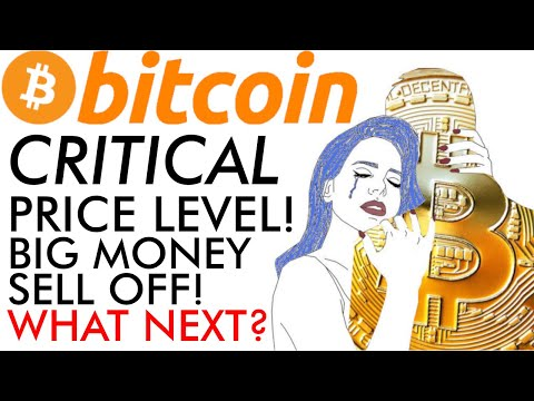 Bitcoin At CRITICAL Price! What Next? Big Money Crypto Sell Off