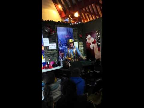 Caleb @Arigna Mines Christmas 2015