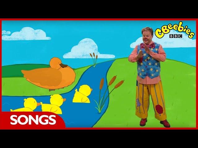 CBeebies Songs | Something Special | Three Little Ducks