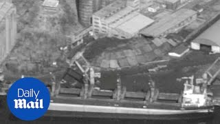 Tensions mount as US seizes North Korean cargo ship