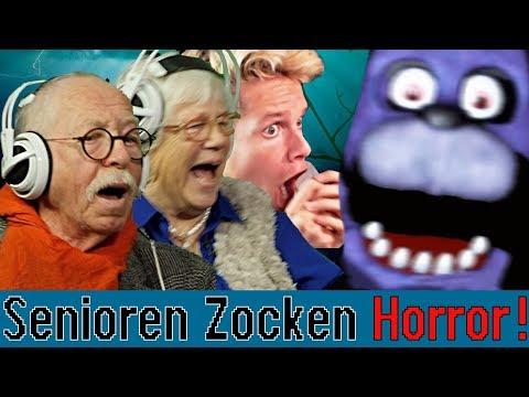 Five Nights At Freddy's - Senioren Zocken ft. Luca|Concrafter thumbnail