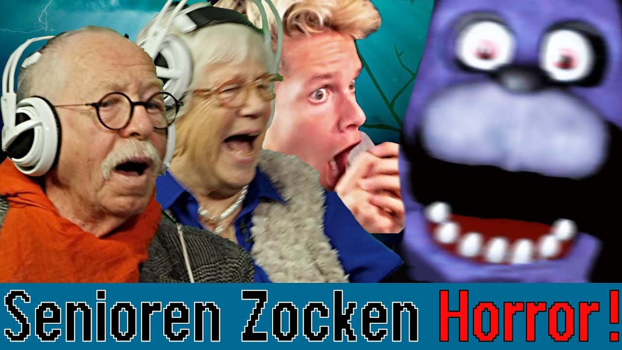 Five Nights At Freddy's - Senioren Zocken ft. Luca|Concrafter