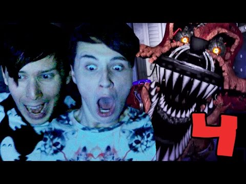 Dan and Phil Play FIVE NIGHTS AT FREDDY'S 4 AGAIN