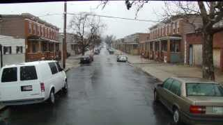Driving East 33rd Street in Baltimore
