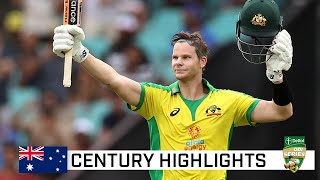 Another extraordinary 62-ball century for supreme Smith | Dettol ODI Series 2020