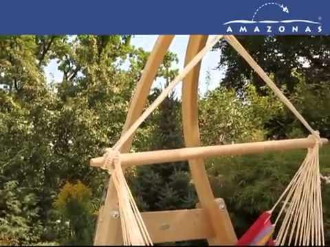 Soporte para hamaca silla atlas en youtube - Estructura hamaca ...