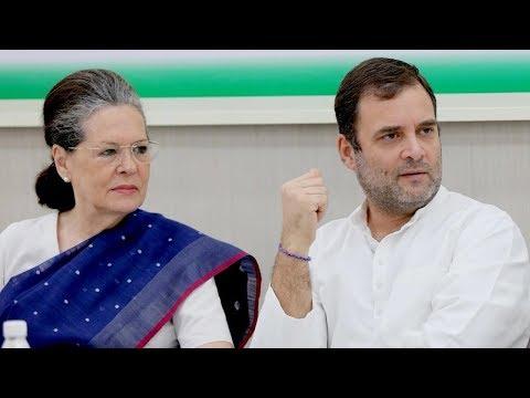 Sonia Gandhi back