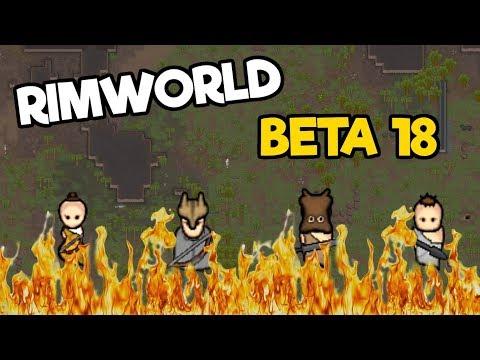 Rimworld Beta 18 The Rich Explorer #3 - Surviving A Raider Ambush!
