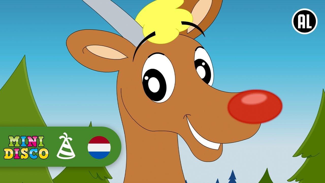 Kleurplaten Kerst Liedjes.Kerst Kerstliedjes Rudolf Het Rare Rendier Minidisco