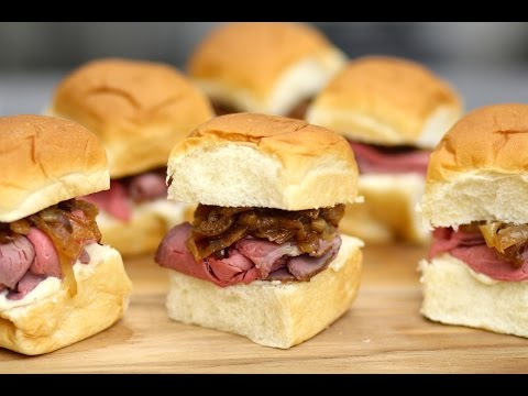 Roast Beef Sliders - Love At First Bite - Ep 55