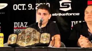 Nick Diaz Post-Fight Comments After Win Over KJ Noons - MMA Weekly News