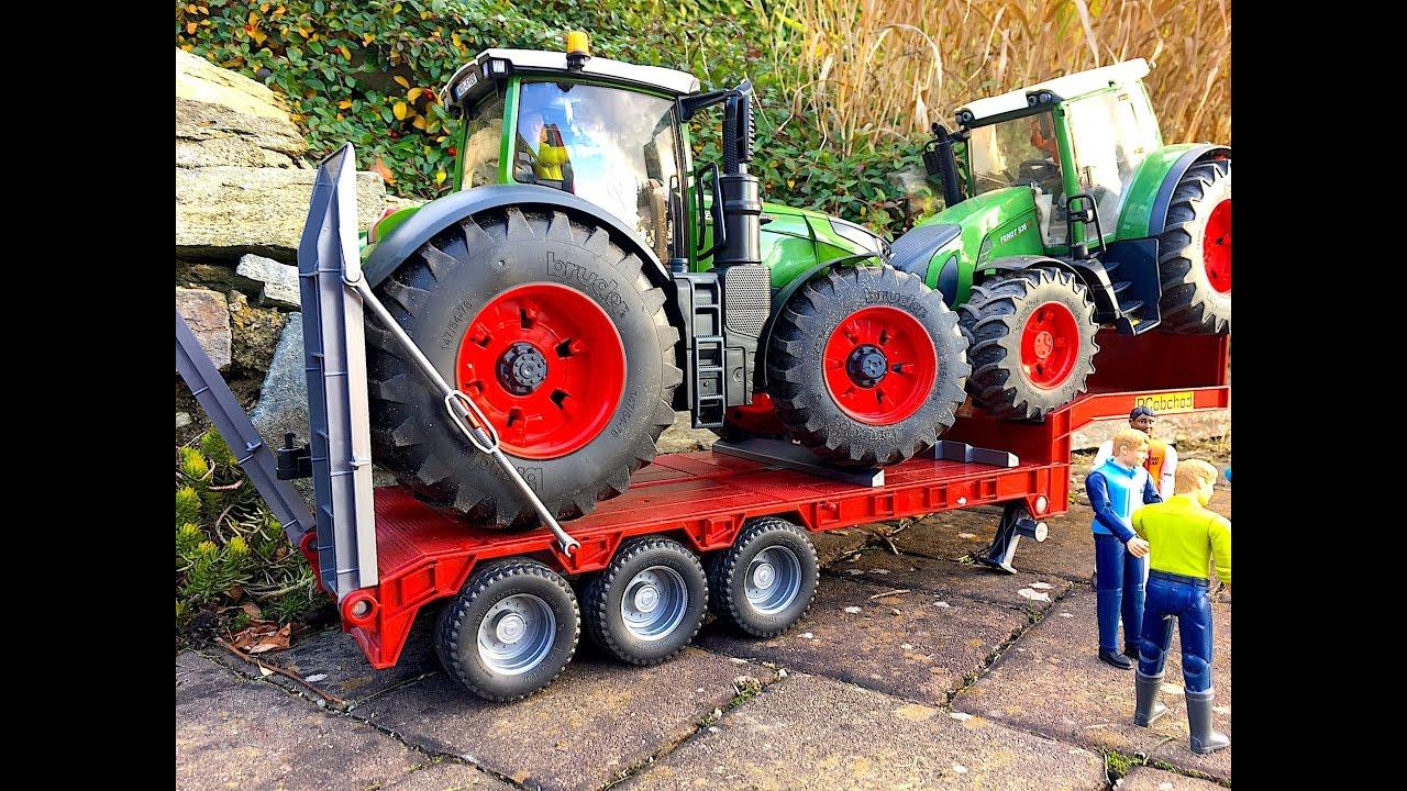 bruder toys crash truck scania transport tractor fendt. Black Bedroom Furniture Sets. Home Design Ideas