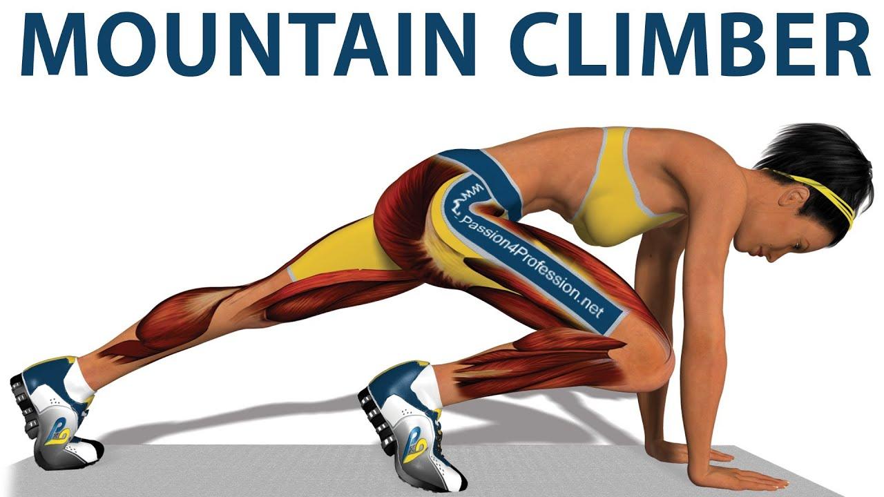 mountain climbing übung