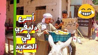 أبو نوفل مشغل دليفيري بالحمار وبينصب ع الناس (هتفطس ضحك)😂