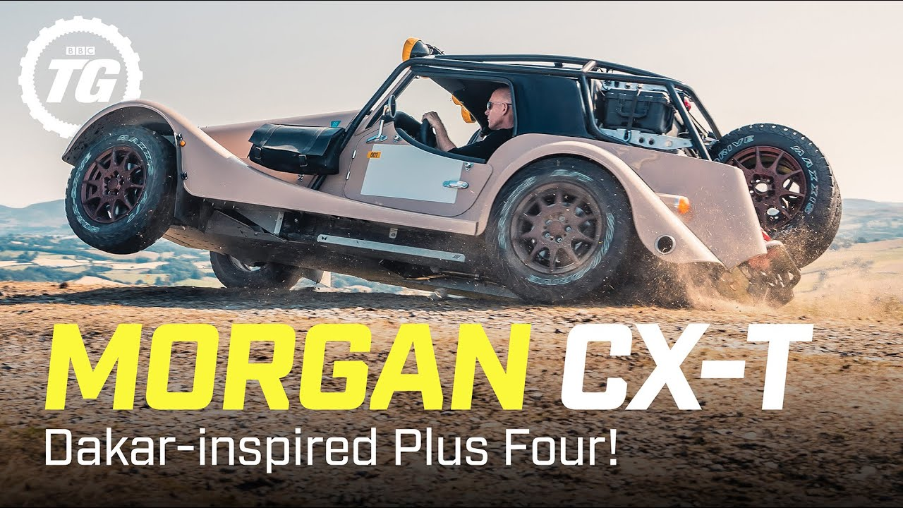 Morgan CX-T Review: Is this Dakar-inspired Plus Four rally car really worth £200k? | Top Gear
