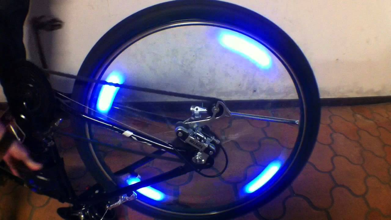 Nova Era Bikes Bicycle Spoke Led Light Youtube