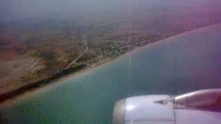 Air Malta, from La Valletta to Tunisi, Tunisia East Coast, Mediterranean Sea