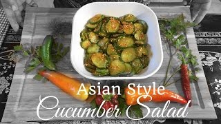 HD Asian Style Cucumber Salad : Asian - Redneck Fusion Cooking Recipes