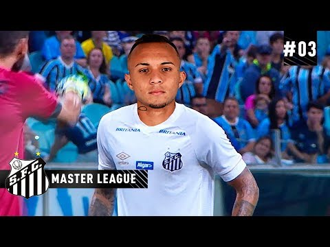 SANTOS SURPREENDE E ANUNCIA EVERTON DO GRÊMIO - MASTER LEAGUE 03  PES 2019
