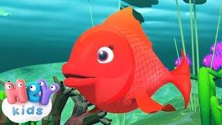Kırmızı Balık şarkısı + Kirmizi Balik Gölde karaoke  HeyKids