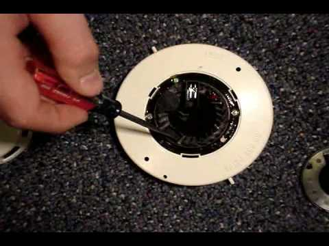 how to clean the simplex 2098 9201 smoke detector head youtube. Black Bedroom Furniture Sets. Home Design Ideas