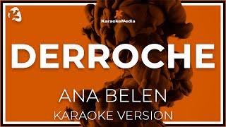 Ana Belen - Derroche (Karaoke)