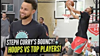 Steph Curry HOOPIN vs TOP High School Players & Starts DUNKING! 7 Footer SAUCES UP Steph!