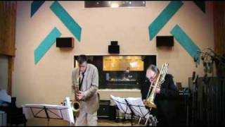 David Taylor, Bass Trombone and Daniel Schnyder, Saxophone, Play Duo Concertante