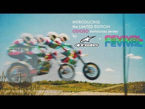 ALPINESTARS + REVIVAL CYCLES presents The LIMITED EDITION Odioso Motocross Jersey