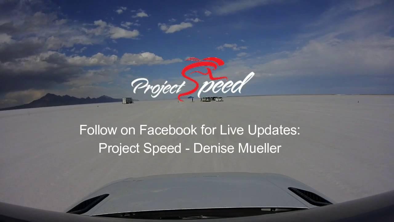 d3ce7b61af3 Shea Holbrook and Denise Mueller Day 1 Testing at the Bonneville Salt Flats