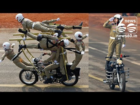 BSF's women 'daredevil' bikers wow crowd at Republic Day parade