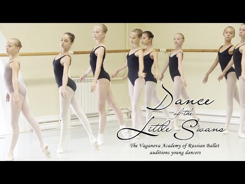 Dance of the Little Swans. Vaganova Academy auditions young