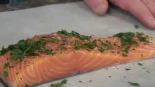 Baked Salmon Recipe With Filippo Berio Extra Virgin Olive Oil