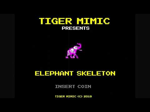 Tiger Mimic - Elephant Skeleton (Official Music Video 2018)
