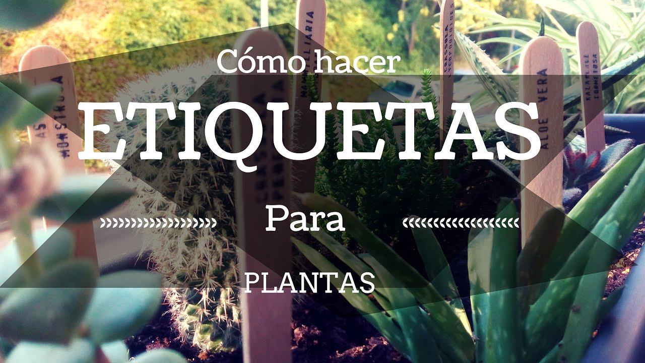 Etiquetas para plantas con tenedores de madera labels for - Etiquetas para plantas ...